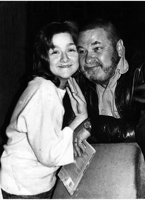 С Юлианом Семеновым, Ялта, 1987