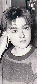 Ника Турбина в Швейцарии. Лозанна, 1991