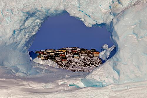 Уумманнак - небольшой городок на севере Гренландии. 2010
