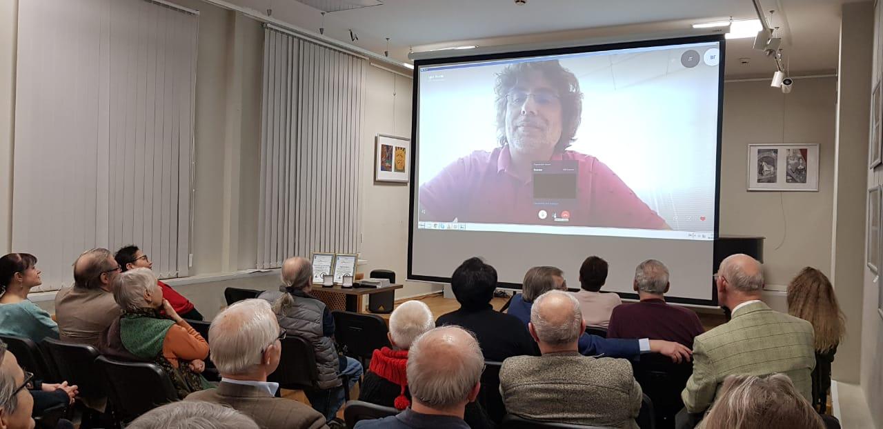Скайп-трансляция с Бостоном, поговорили с Игорем Джерри Курасом, одним из основателей журнала