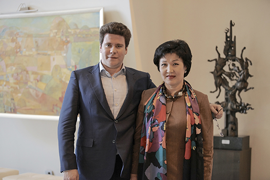 Жания с Денисом Мацуевым, Международный конкурс Astana Piano Passion, г.Астана