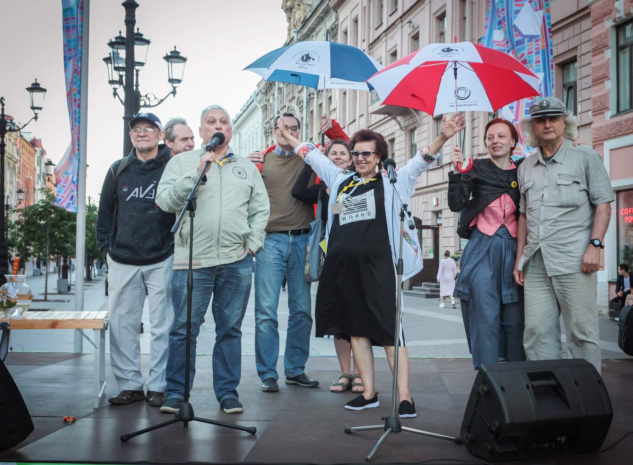 Организаторы фестиваля ПЕТЕРБУРГСКИЕ МОСТЫ. Конюшенные аллеи