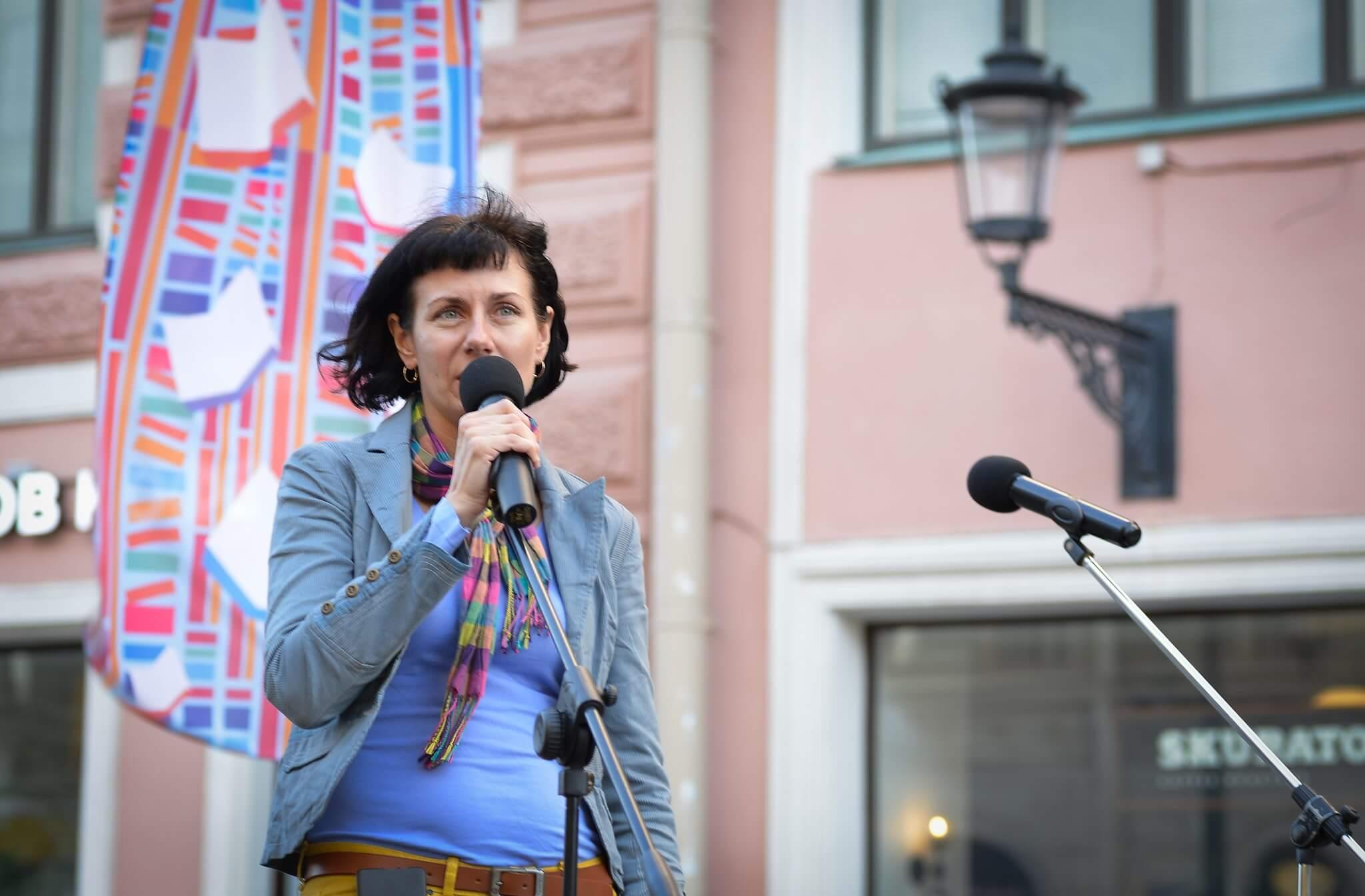 Кира Грозная, главный редактор журнала АВРОРА