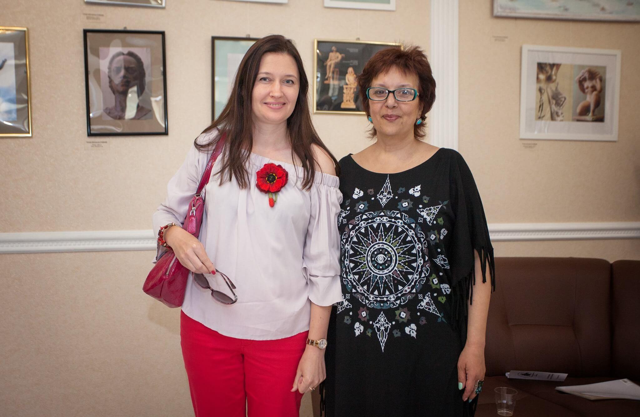 Ирина Терра и Галина Илюхина