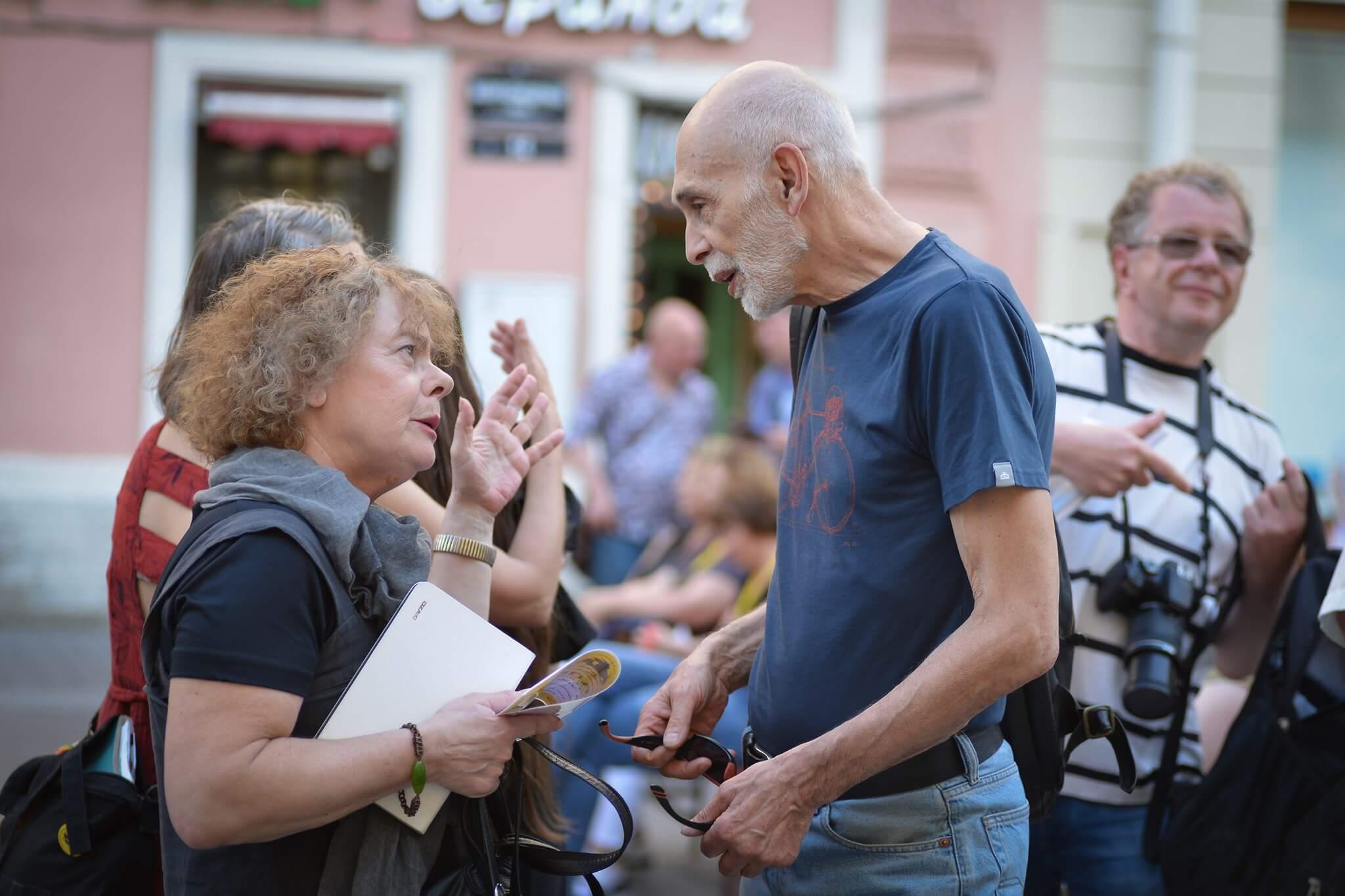 Ирина Евса и Леонид Юзефович