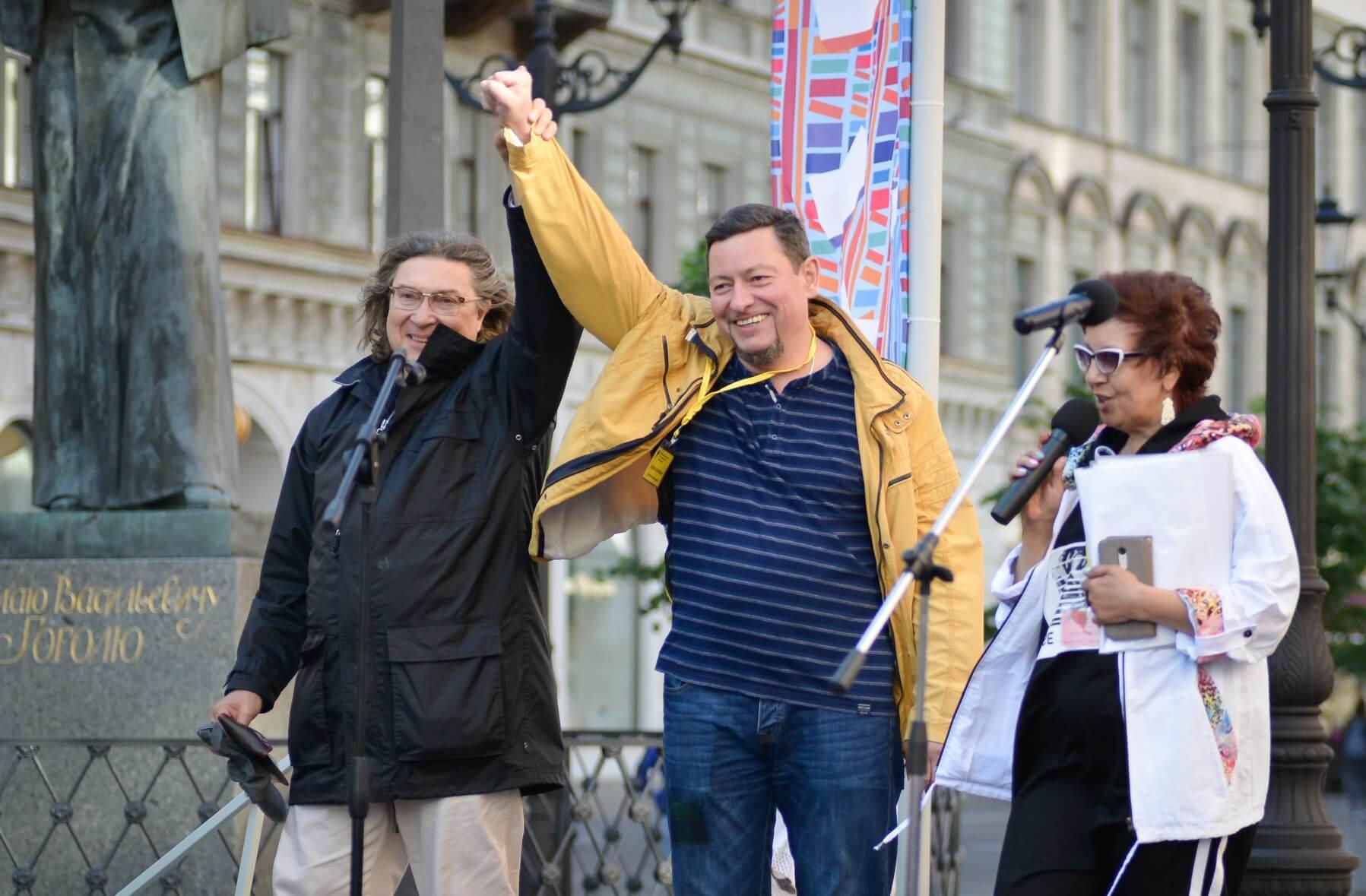 Александр Александров (Фагот), Андрей Коровин, Галина Илюхина