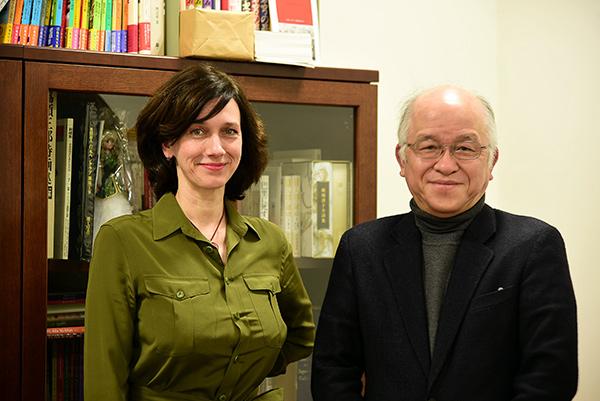 Юлия Стоногина с Асадо Дзиро