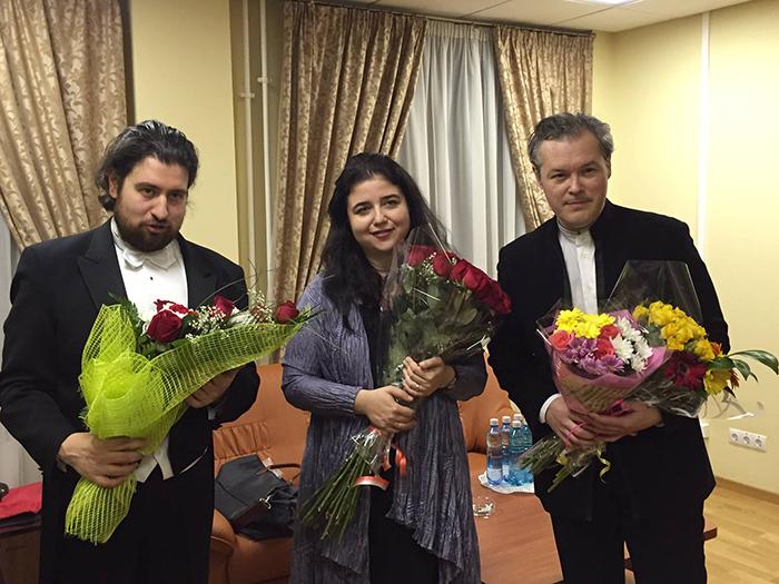 Dmitri Jurowsky, Lera Auerbach, Vadim Repin (Novosibirsk)