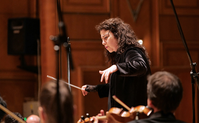 Lera Auerbach (conducting) (Bucharest @ Enescu Festival)