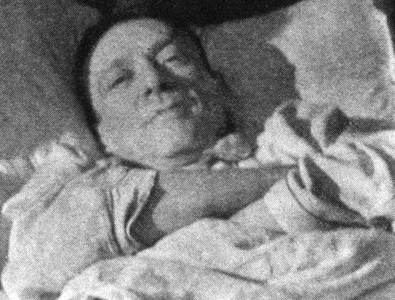 Последняя прижизненная фотография Булгакова, 27 февраля 1940 г