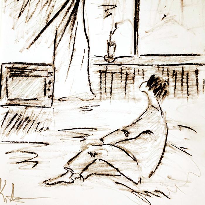 Рисунок Каринэ Арутюновой