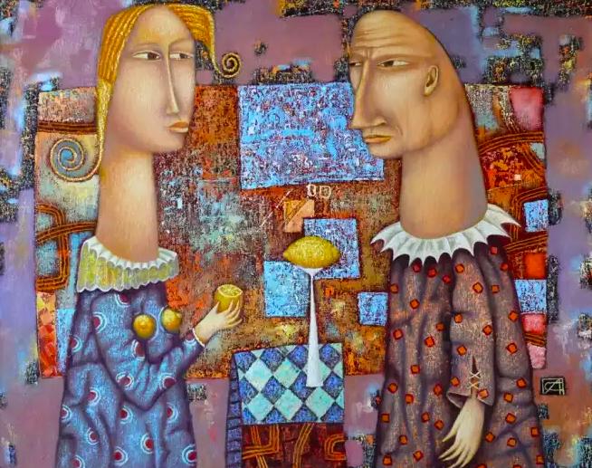 Художник Александр Сулимов. Лимонное настроение