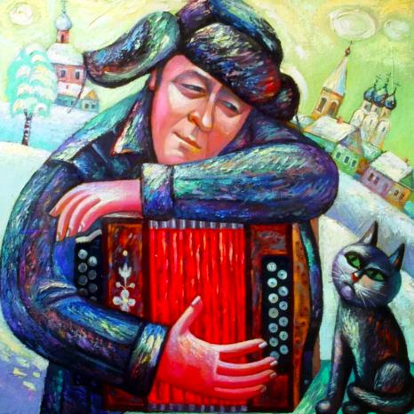 Играй гармонь. Геннадий Заволокин