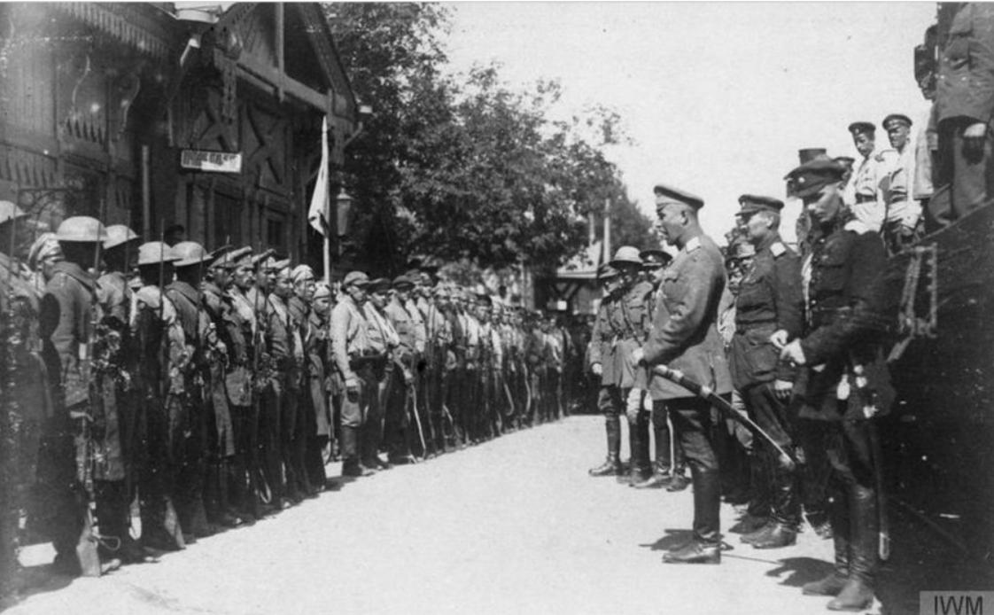 Белая армия собирает добровольческие отряды
