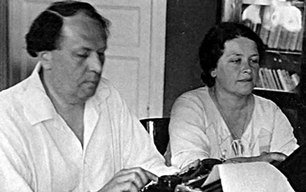 Алексей Толстой с женой Натальей Крандиевской
