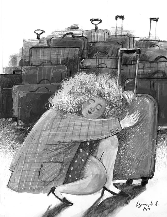 Иллюстрация Елены Кузьмищевой