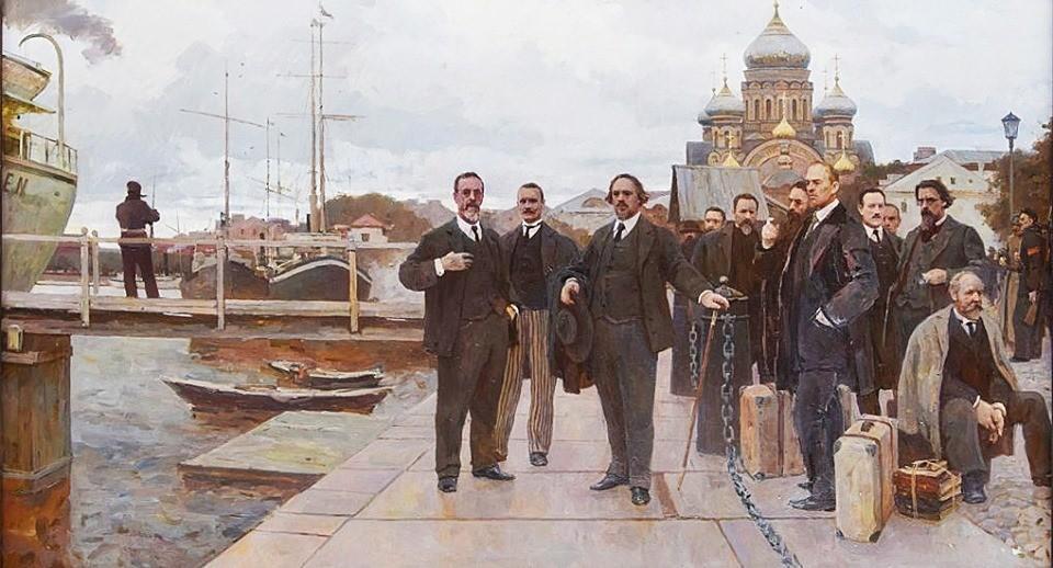 Художник Дмитрий Пантюхин. Философский пароход