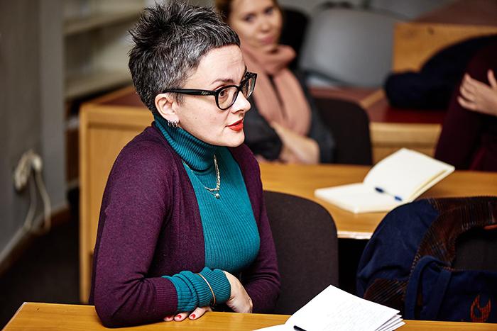 Ольга Фатеева в литературной школе
