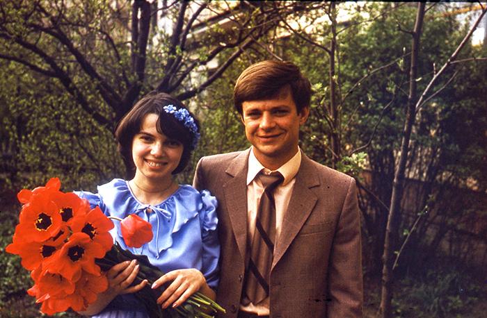 Свадьба Татьяны и Владимира Сотниковых. Минск, 1983