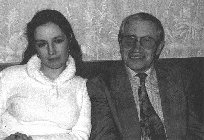 Георгий Владимов с дочерью Мариной. Москва, 18 февраля 1998 г.
