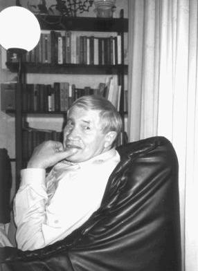 Георгий Владимов дома у Сергея Юрьенена во Франкфурте, 1999 или 2000 г.