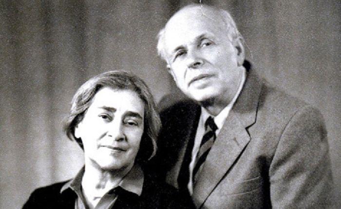 Супруги Андрей Сахаров и Елена Боннэр