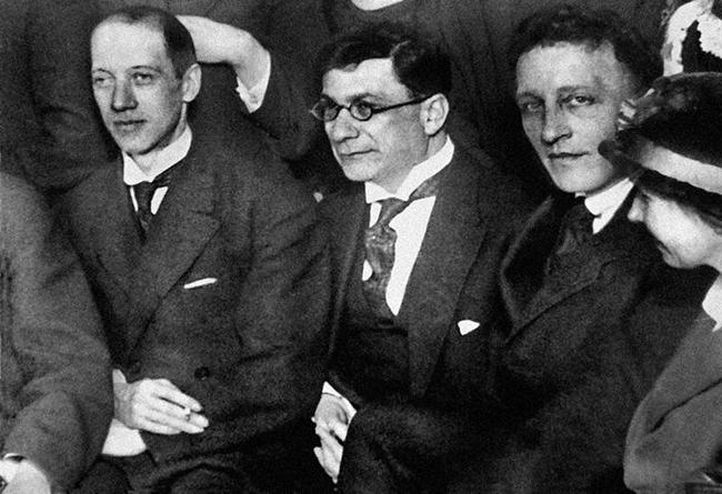 Николай Гумилёв, Зиновий Гржебин, Александр Блок, 1919 год