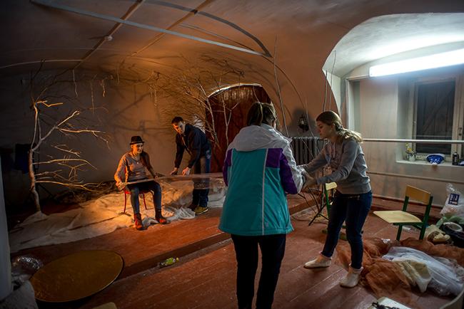 Дети в пещере (фотостудия БАЛАНС)